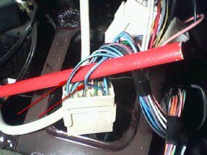 подключение сигнализации к поворотникам